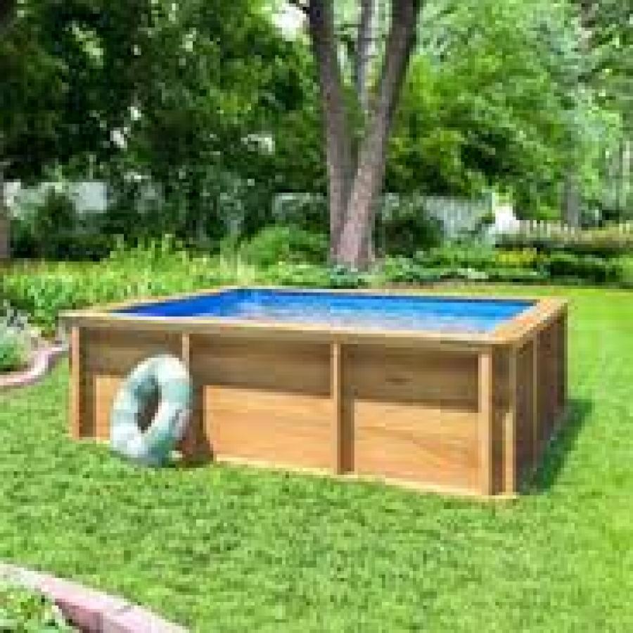 Piscina fuoriterra in legno per bambini - Migliori piscine fuori terra ...